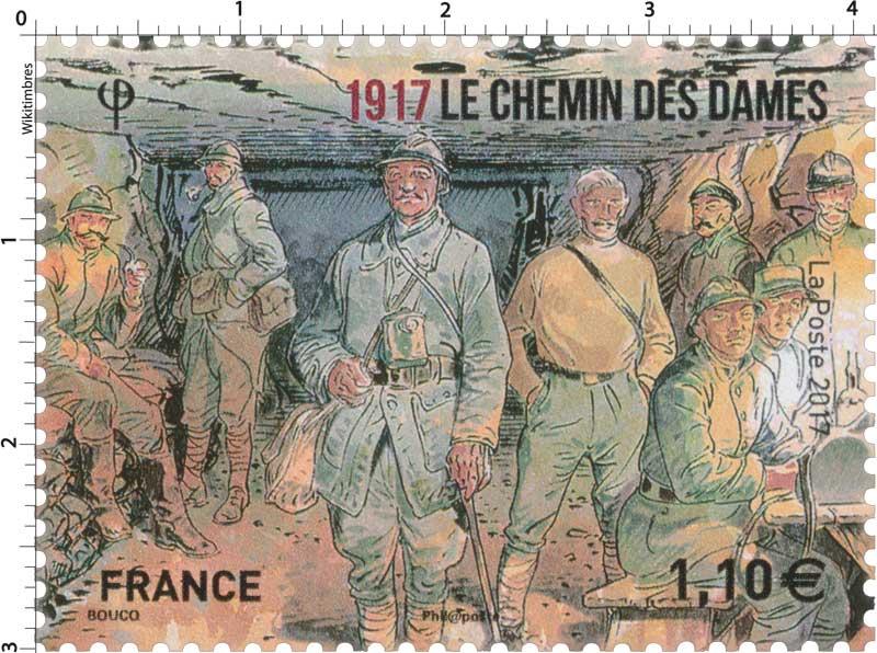 2017 LE CHEMIN DES DAMES 1917