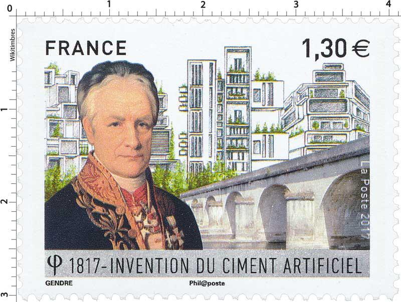 2017 Invention du ciment artificiel 1817