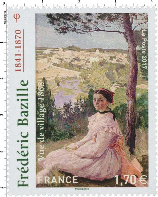 2017 Frédéric Bazille 1841-1870 - Vue de village 1868