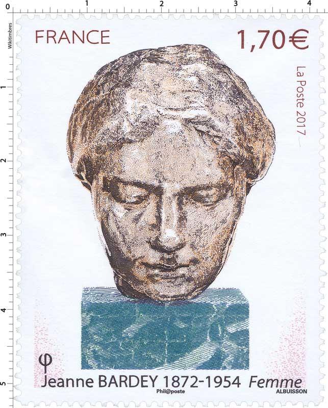 2017 Jeanne Bardey 1872-1954 Femme