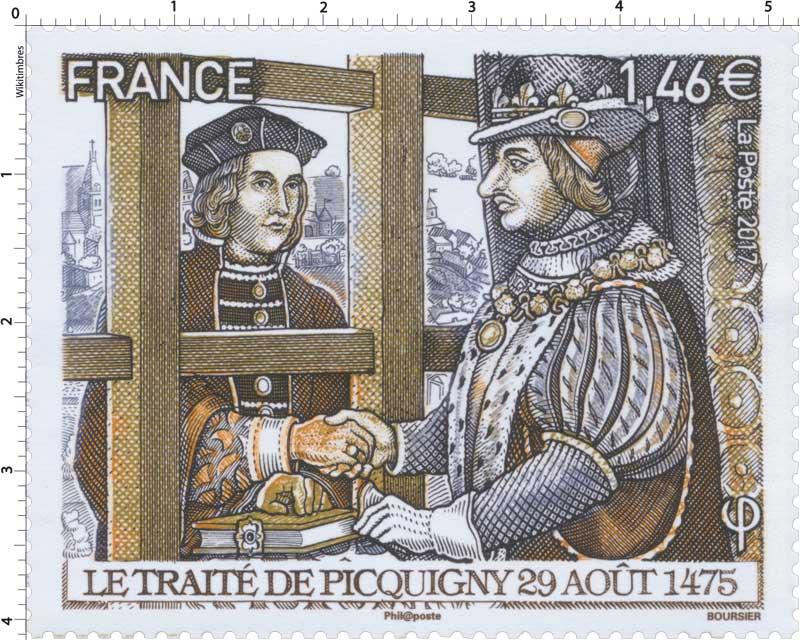 2017 Le traité de Picquigny 29 août 1475