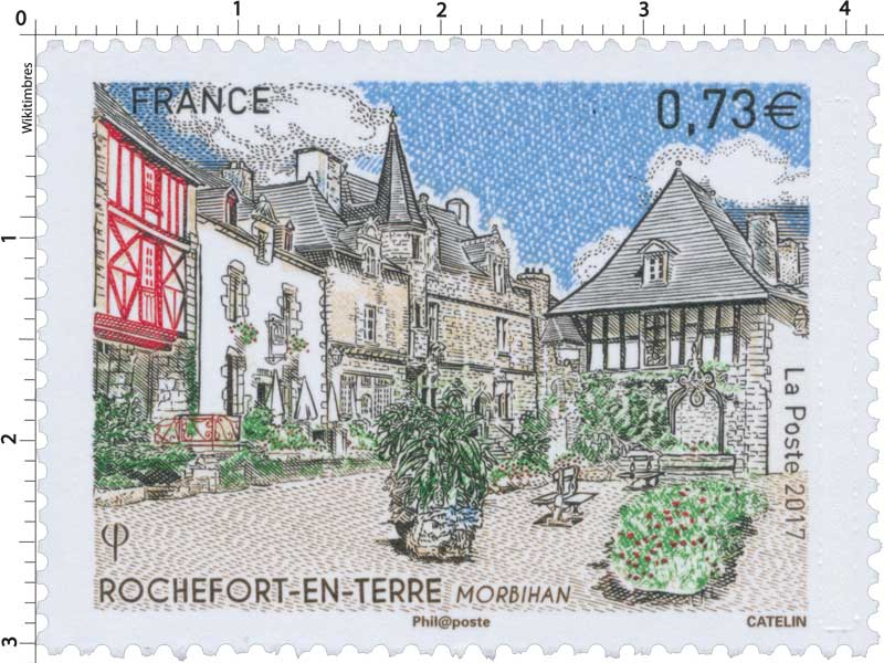 2017 ROCHEFORT EN TERRE - Morbihan