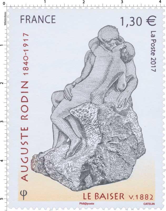2017 AUGUSTE RODIN 1840-1917 LE BAISER V. 1882
