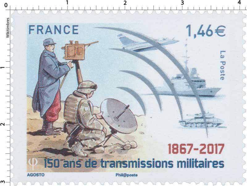 2017 150 ans de transmissions militaires 1867-2017