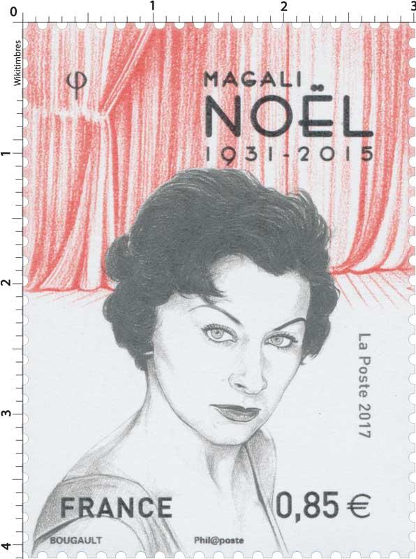 2017 Magali Noël 1931 - 2015