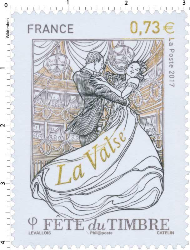 2017 Fête du timbre - La valse