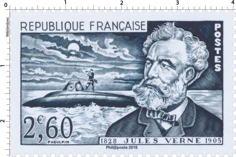 Trésors de la Philatélie 2018 - JULES VERNE 1828-1905