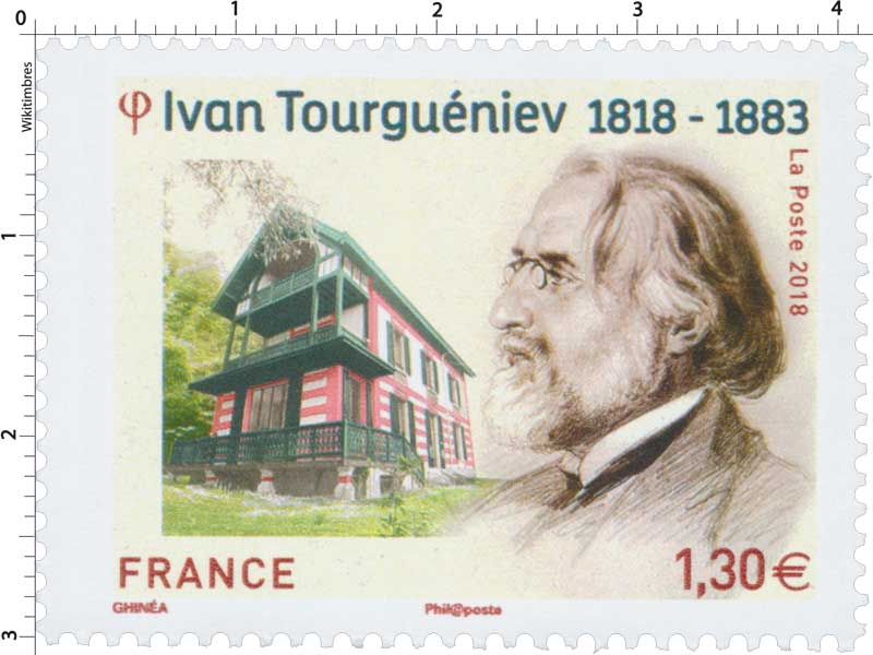 2018 Ivan Tourguéniev 1818 - 1883