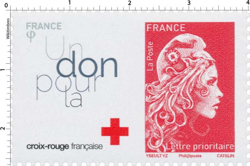2018 Un don pour la croix-rouge française