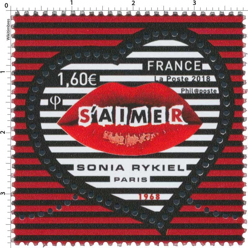 2018 Sonia Rykiel Paris - Baiser 1968