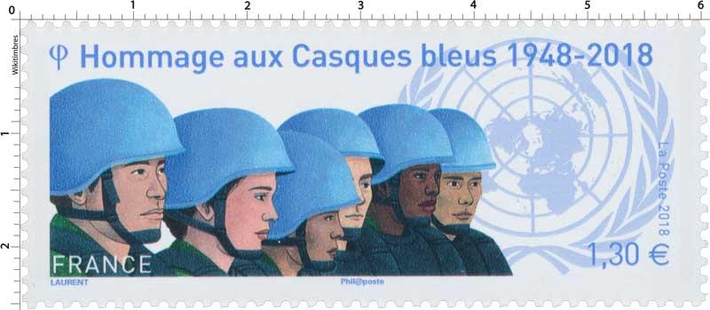 2018 Hommage aux Casques bleus 1948-2018