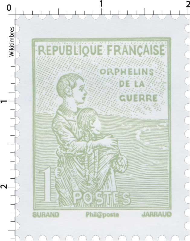 2018 ORPHELINS DE LA GUERRE