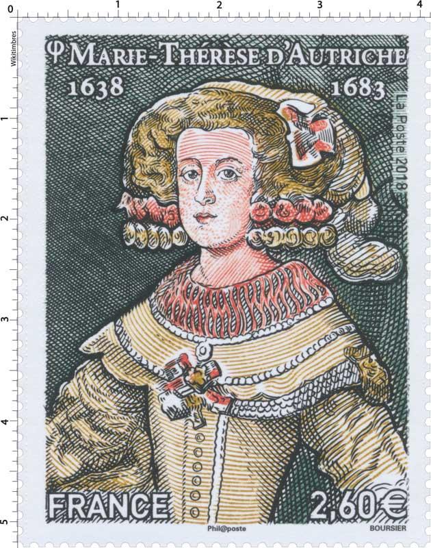 2018 Marie-Thérese d'Autriche 1638-1683