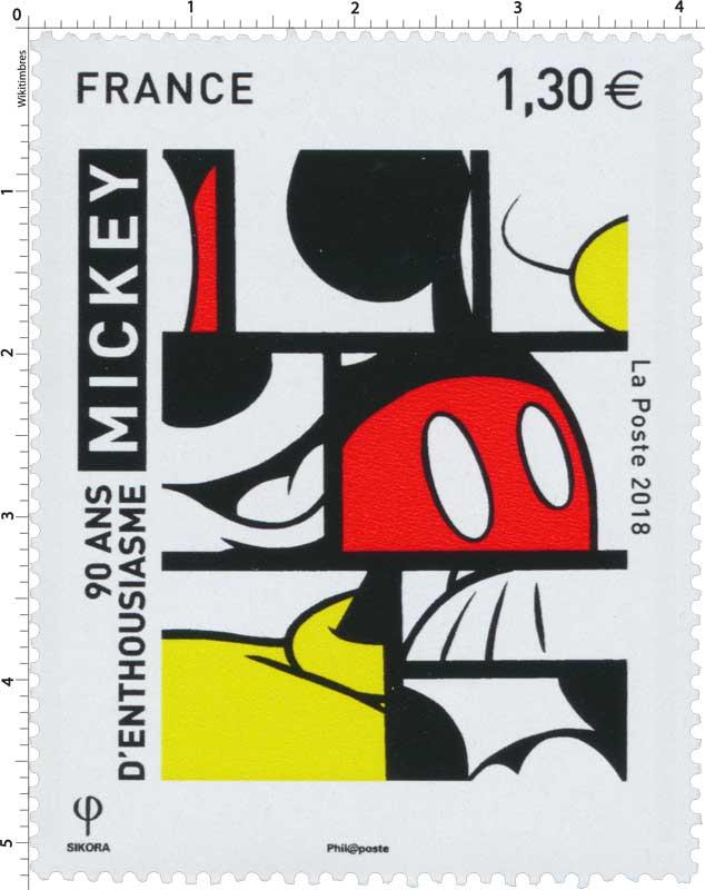 2018 90 ans d'enthousiasme - MICKEY