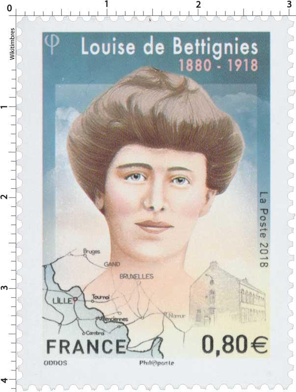 2018 Louise de Bettignies 1880 - 1918