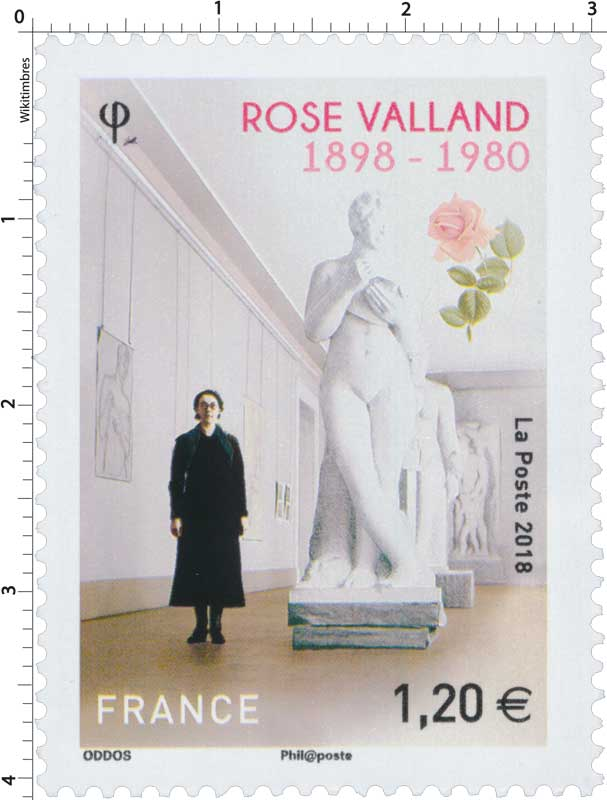 2018 Rose Valland 1898 - 1980
