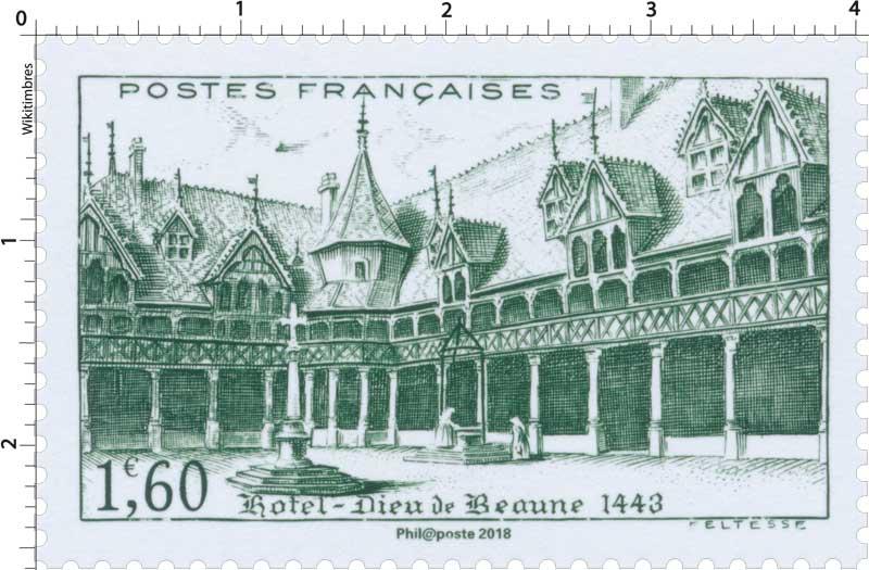 Trésors de la Philatélie 2018 - Hôtel-Dieu de Beaune 1443