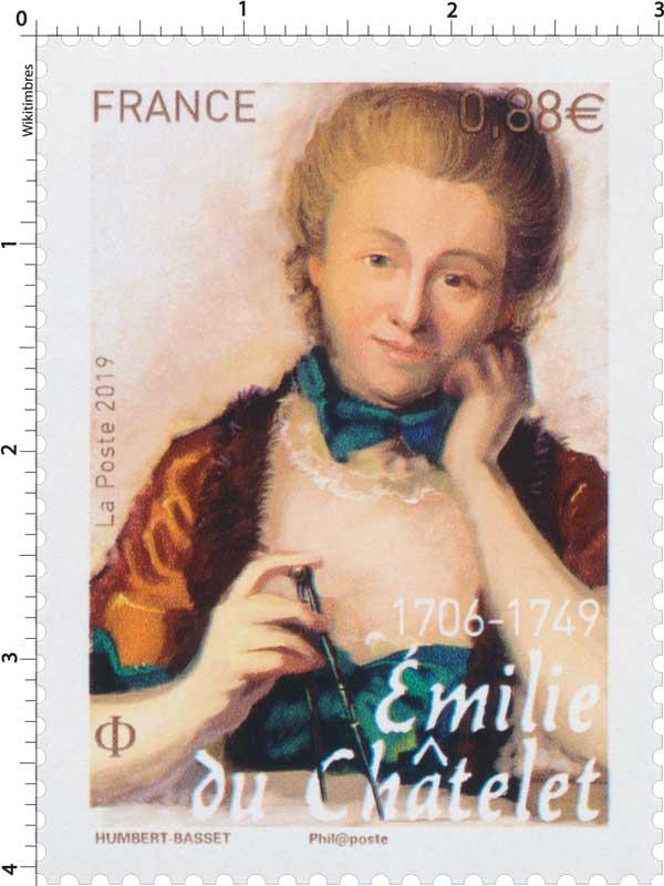 2019 Émilie du Châtelet 1706-1749
