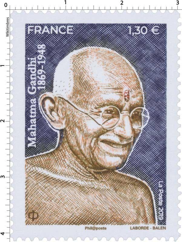 2019 MAHATMA GANDHI 1869-1948