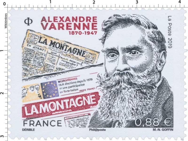 2019 ALEXANDRE VARENNE 1870-1947