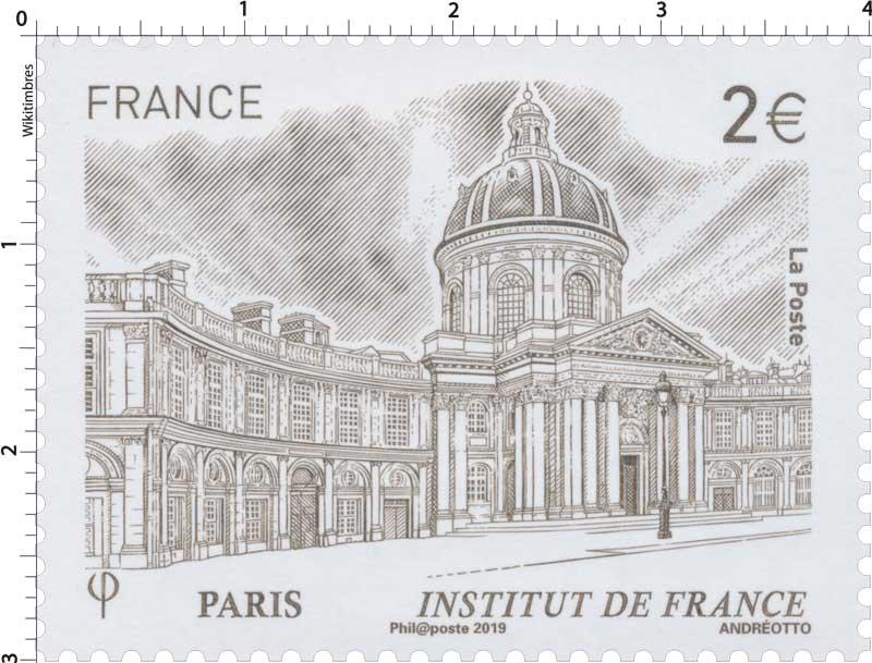 2019 PARIS Institut de France