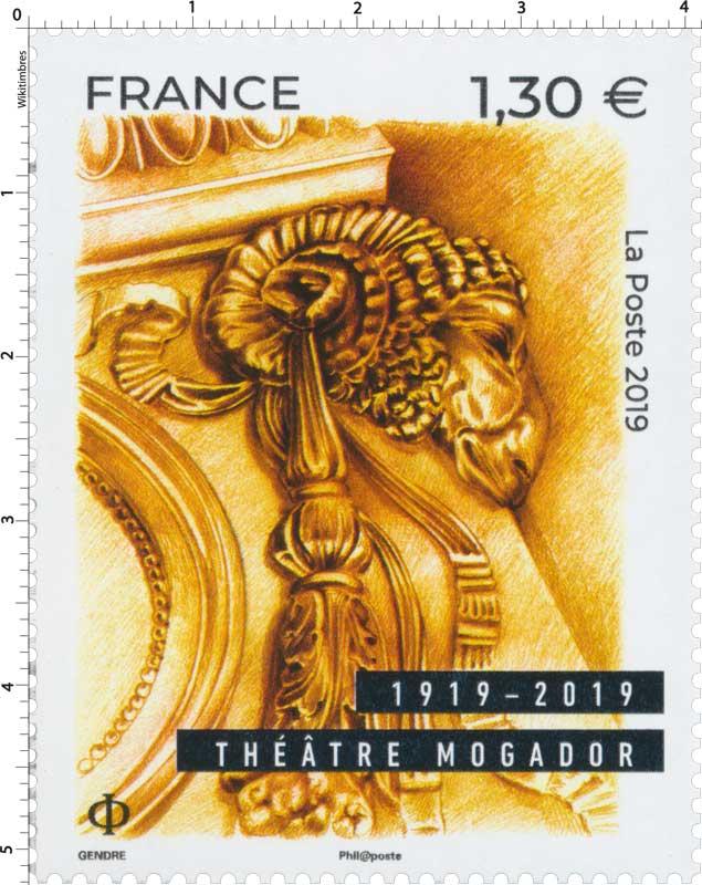 1919 - 2019 THÉÂTRE MOGADOR