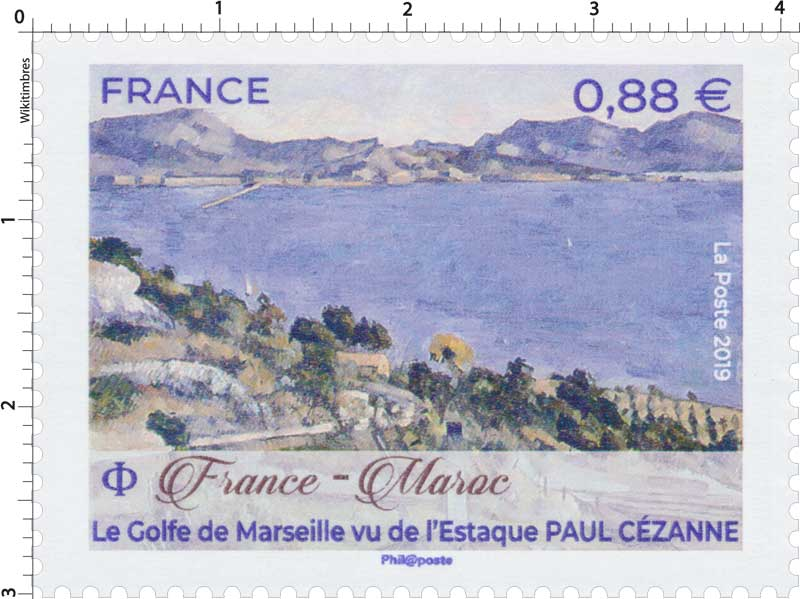 2019 France – Maroc Le Golfe de Marseille vu de l'Estaque Paul Cézanne