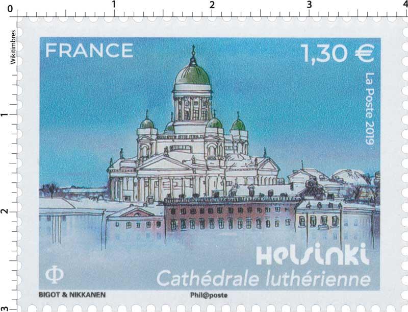 2019 Helsinki - Cathédrale luthérienne