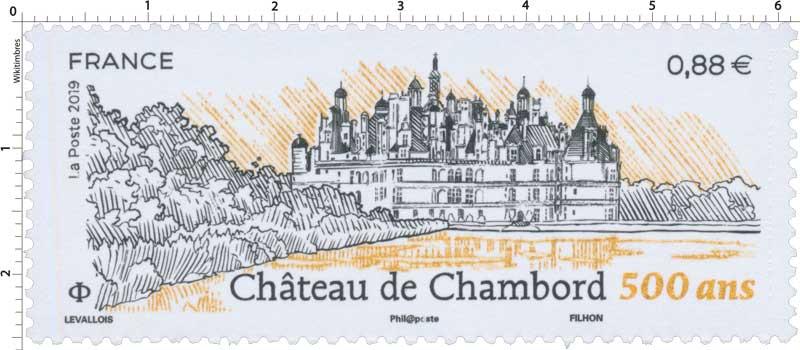 2019 CHÂTEAU DE CHAMBORD 500 ANS