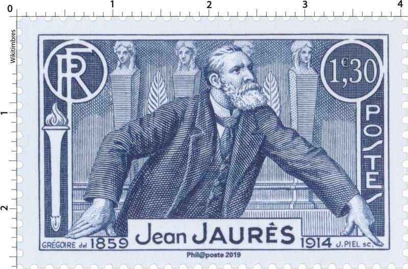 2019 Patrimoine de France - Jean JAURÈS 1859-1914
