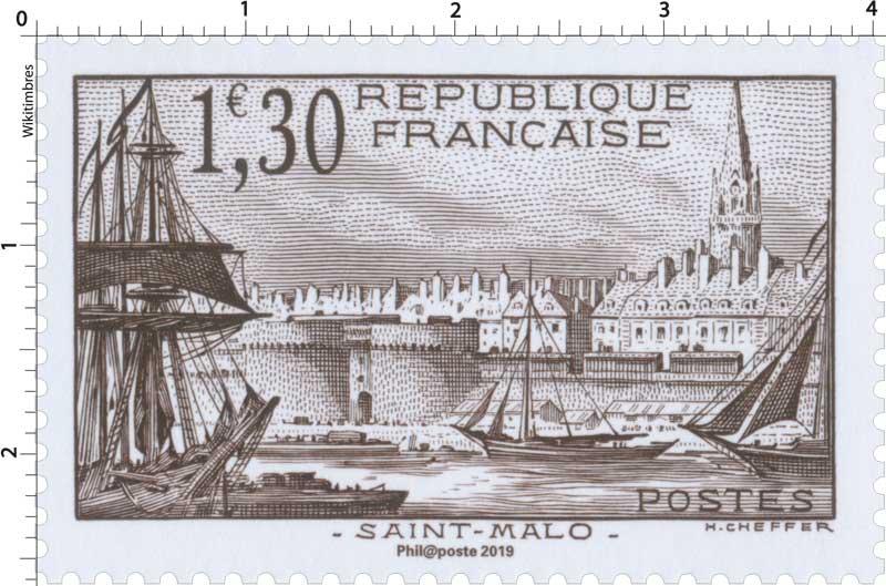 2019 Patrimoine de France - SAINT-MALO