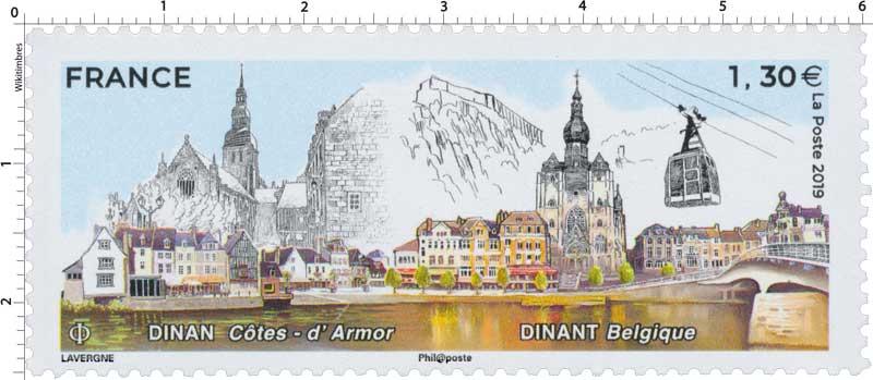 DINAN Côtes-d'Armor - DINANT Belgique