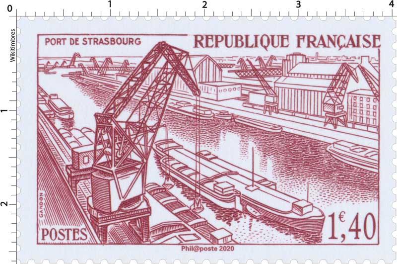 2020 Patrimoine de France - PORT DE STRASBOURG