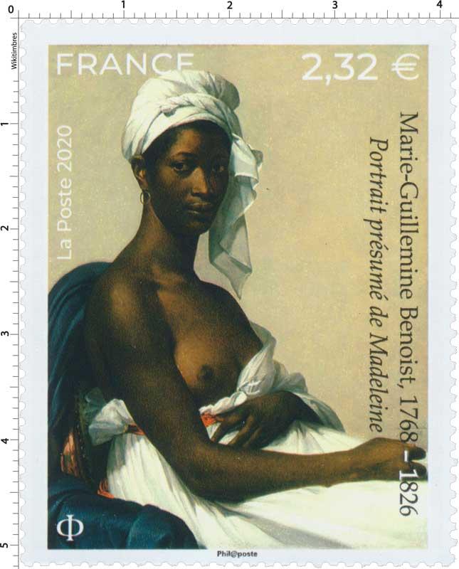 2020 Marie-Guillemine Benoist, 1768 – 1826 Portrait présumé de Madeleine