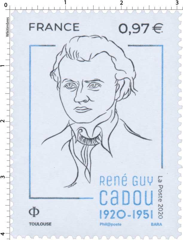 2020 René Guy CADOU 1920 - 1951