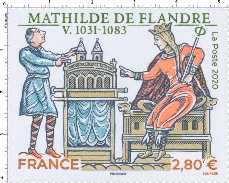 2020 MATHILDE DE FLANDRE V.1031 - 1083