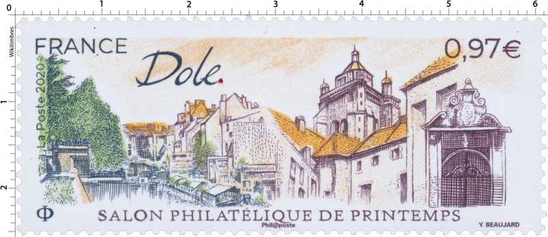 2020 Salon philatélique de printemps - Dole