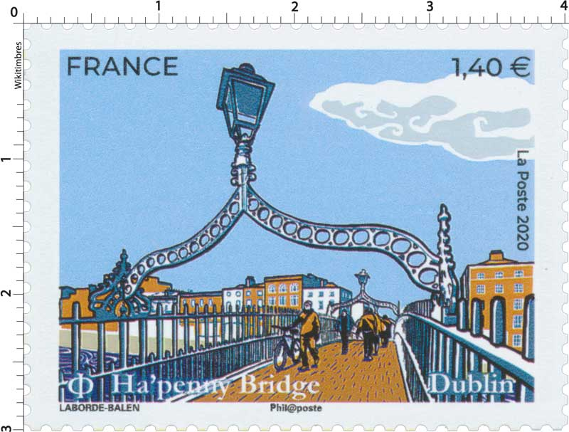 2020 Dublin - Ha'penny Bridge