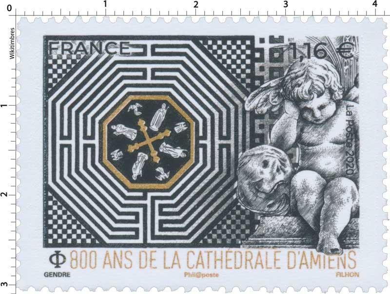 2020 800 ANS DE LA CATHÉDRALE D'AMIENS