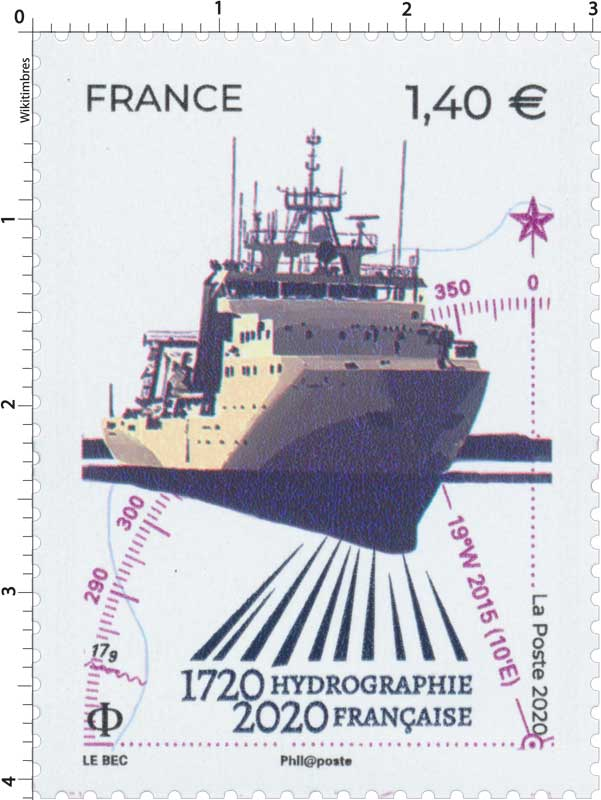 2020 1720 HYDROGRAPHIE FRANCAISE