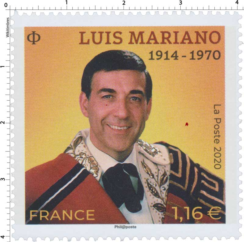 2020 LUIS MARIANO 1914 - 1970