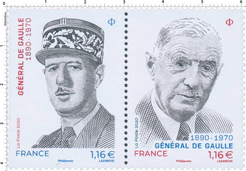 GENERAL DE GAULLE 1890 - 1970