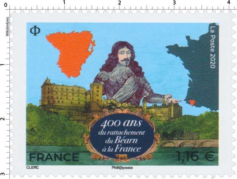 2020 400 ans du rattachement du Béarn à la France.