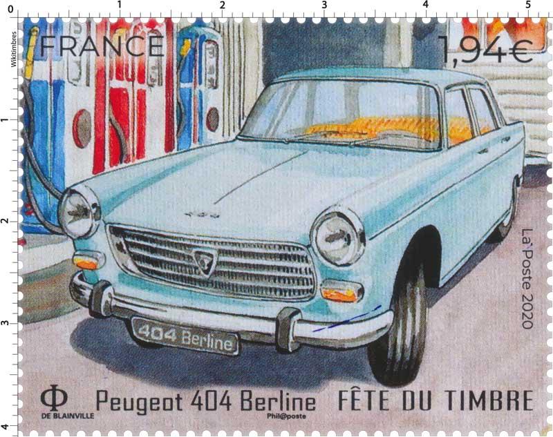 2020 Fête du Timbre - Peugeot 404 Berline