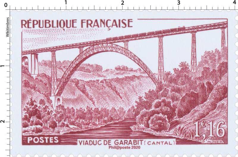 2020 Patrimoine de France - VIADUC DE GARABIT (CANTAL)