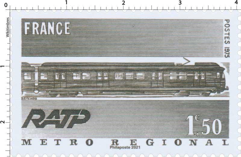 2021 Patrimoine de France - RATP METRO RÉGIONAL