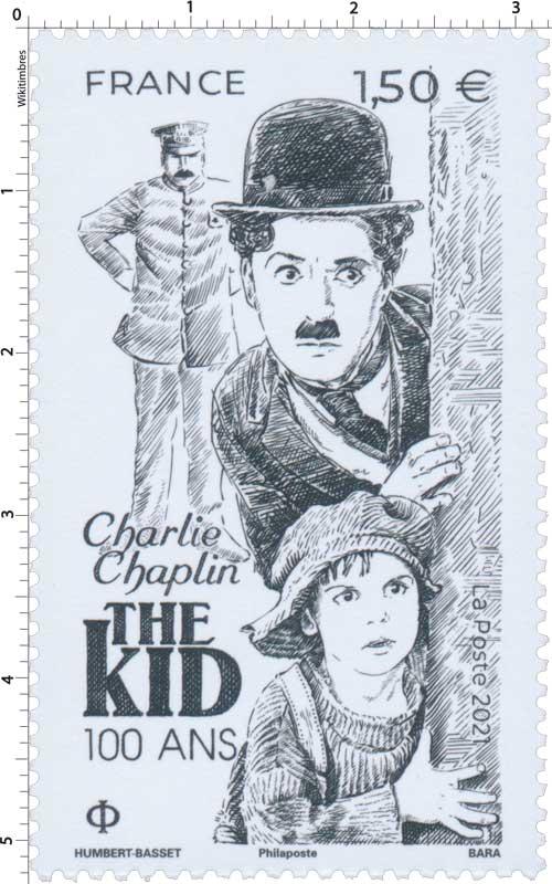 2021 Charlie Chaplin THE KID 100 ANS