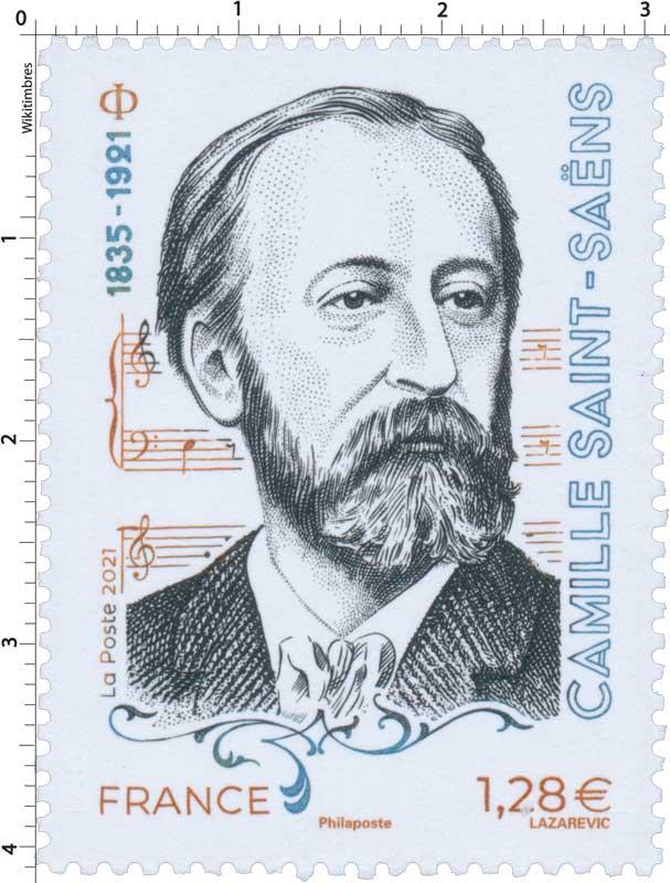 2021 Camille SAINT-SAËNS 1835 - 1921