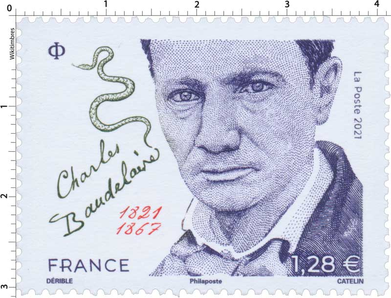 2021 CHARLES BAUDELAIRE 1821 - 1867
