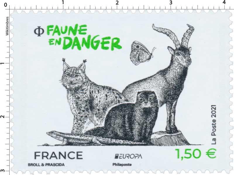 2021 FAUNE EN DANGER EUROPA